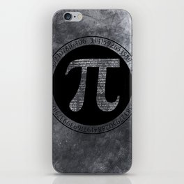 Pi Irrational Number iPhone Skin