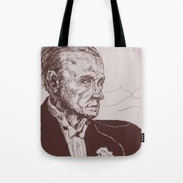 Fred Astaire in Moon Luminance Tote Bag