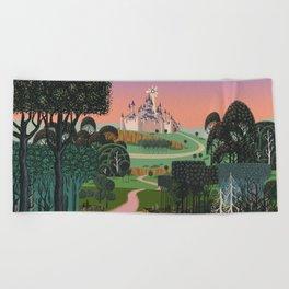 Dream for a Castle Beach Towel