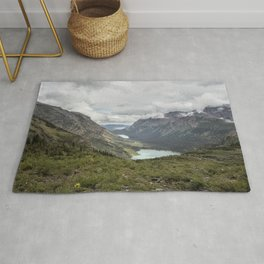 Three Lakes Viewed from Grinnell Glacier Rug