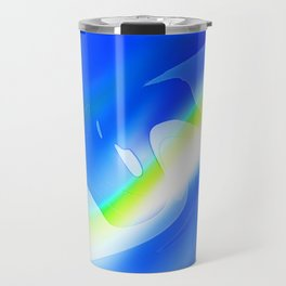 """'70's Lava Lamp"" Photograph Travel Mug"