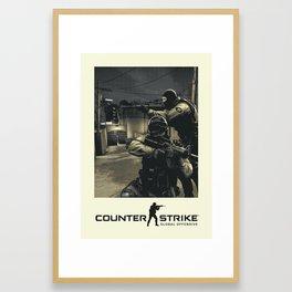 Counter-Strike Global Offensive Framed Art Print
