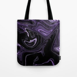 purple oil Tote Bag