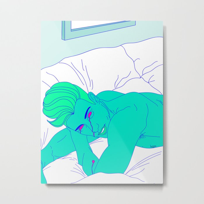Valley Boys Cry Metal Print