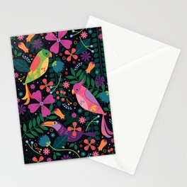 Enchanted Tiki Birds Stationery Cards