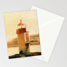 A Day In Maine Stationery Cards