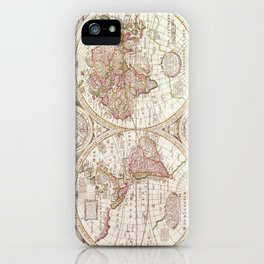 An Accurate Map iPhone Case