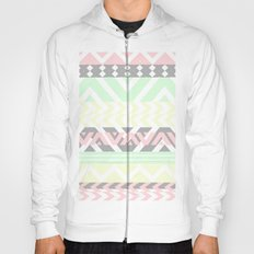 chevron pattern. Hoody