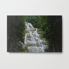 Bridal Veil Waterfalls Metal Print