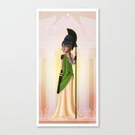 Greek Goddesses - Athena Canvas Print