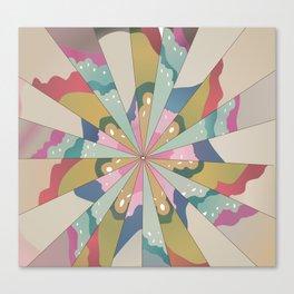 Fractal Kaleidoscope Canvas Print