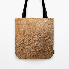 Closeup of Australian Kangaroo fur Tote Bag