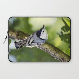 Charming Nuthatch Laptop Sleeve