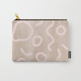Pink Confetti Carry-All Pouch