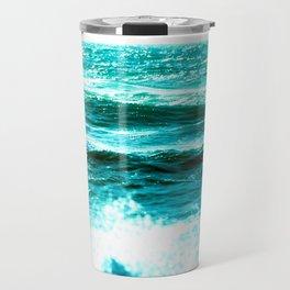 California Ocean Waves Travel Mug