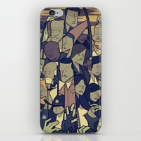 the walking dead iPhone & iPod Skins featuring The Walking Dead by Ale Giorgini