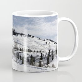 Carol M Highsmith - Snow Covered Hills Coffee Mug