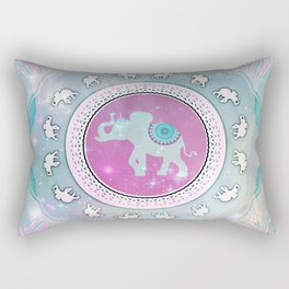 MAGIC HAPPY ELEPHANT Rectangular Pillow