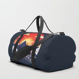Sunset dream Duffle Bag