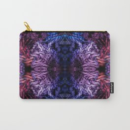 Stained Glass (Blue & Purple) Carry-All Pouch