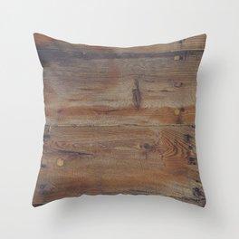 Shipboard Planks Throw Pillow