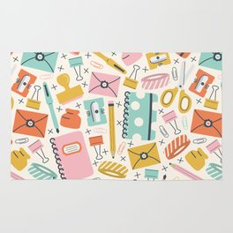 Stationery Love Rug