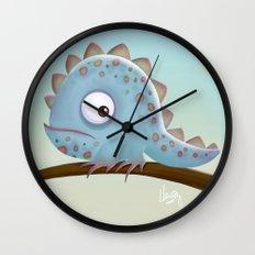 Cute Iguana Wall Clock