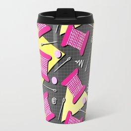 Memphis Sewing Travel Mug