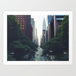 City Park New York 4 Art Print