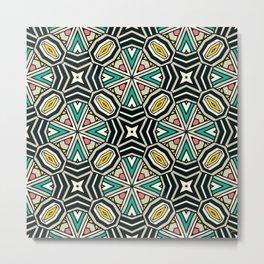 50's Tile Metal Print
