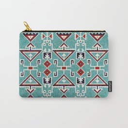 Native American Indians Navajo Pattern Carry-All Pouch