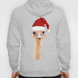 Ostrich Christmas Hoody