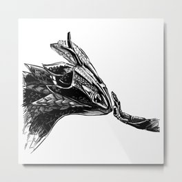 daytona dragon Metal Print
