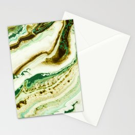 Green fever Stationery Cards