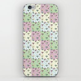 Pajama'd Baby Goats - Small Patchwork iPhone Skin