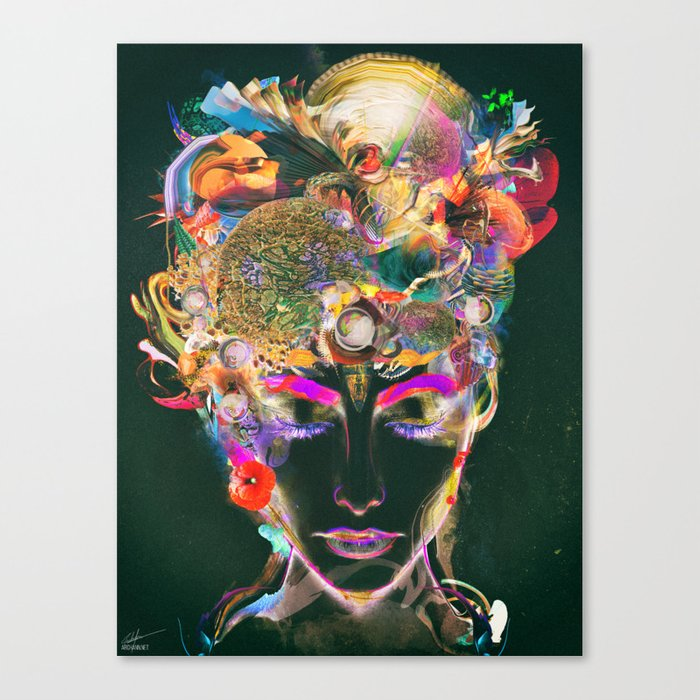 Mahalaya Canvas Print