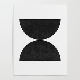 Minimalist Spheres Poster