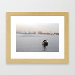 Thessaloniki II Framed Art Print
