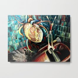 Hurricane Heartstopper Metal Print