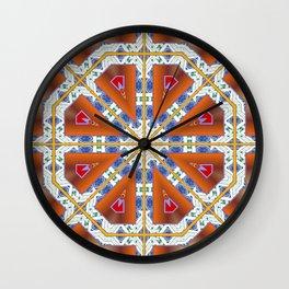 Octogon Wall Clock