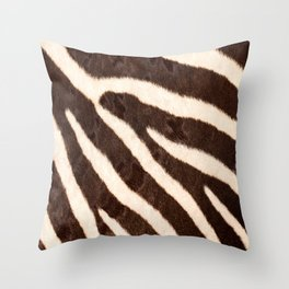 Zebra #decor #society6 #buyart Throw Pillow