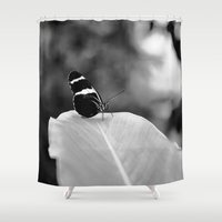 wings Shower Curtains featuring Wings by Karina O'Brien