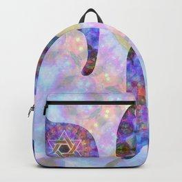 Colorful Art - Chai 2 - Sharon Cummings Backpack