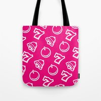 las vegas Tote Bags featuring Vegas by very giorgious