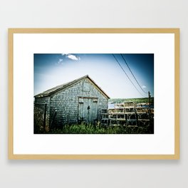The Traps Framed Art Print