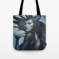 kpop Tote Bags featuring Wicked by Artgerm™