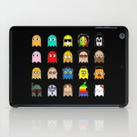 pac man iPad Cases featuring pac man by sEndro