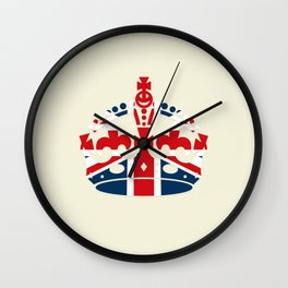 British Coronation Wall Clock