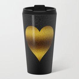 Golden Heart Travel Mug