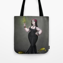 Goth Witch Tote Bag